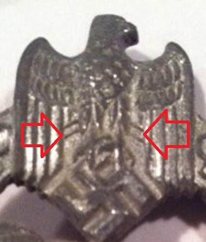 Panzerkampfabzeichen Im Silber R.K.