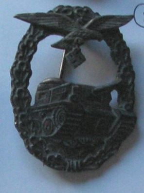 panzerkampfabzeichen der Luftwaffe
