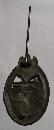 Panzerkampfabzeichen RRS
