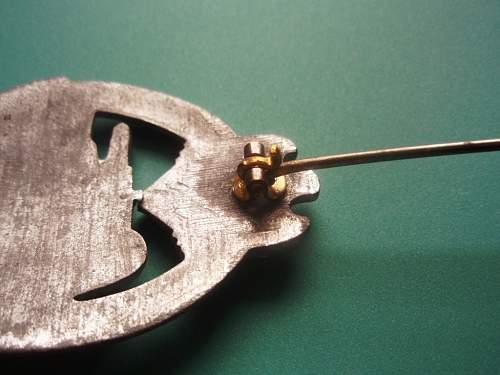 Panzerkampfabzeichen bronze
