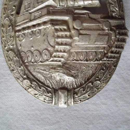 Panzerkampfabzeichen Silber