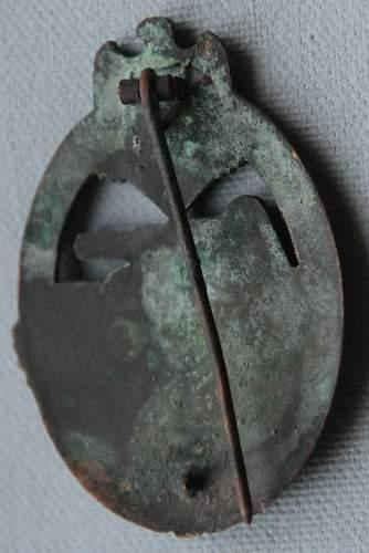 Panzerkampfabzeichen in Bronze for Opinions.