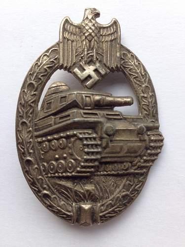 Panzerkampfabzeichen in Silber, Opinions please !