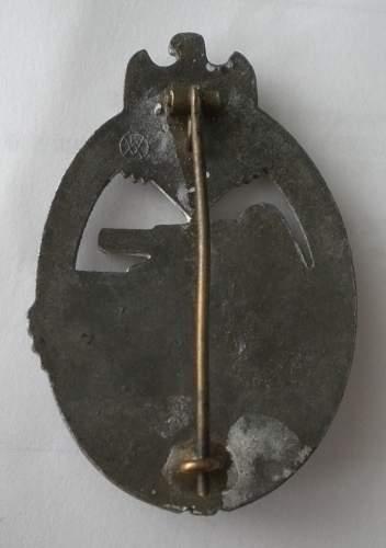 Panzerkampfabzeichen in Silber, Karl Wurster
