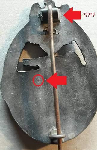 Please help with this Panzerkampfabzeichen