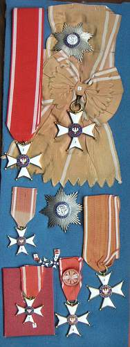 POLISHBOYS PRL Orders & Medals Collection