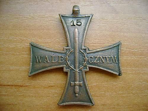 Cross of Valour - LWP Communist Era
