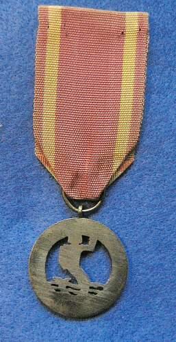 1939-1945 Warsaw Medal