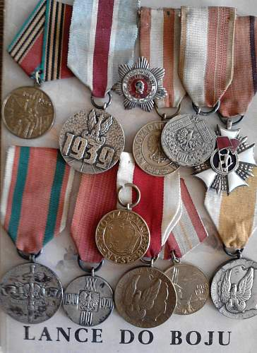 Can anyone help me identify these medals?