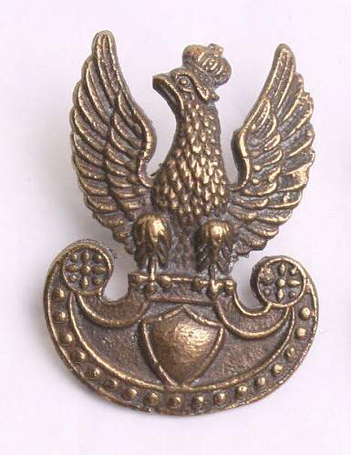 Which cap eagle was Berling wearing?