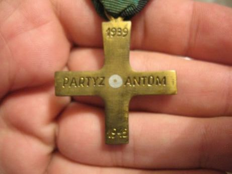 Krzyż Partyzancki (partisan cross), real or not?