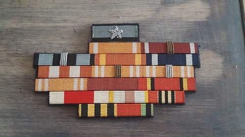 Polish ribbon bar