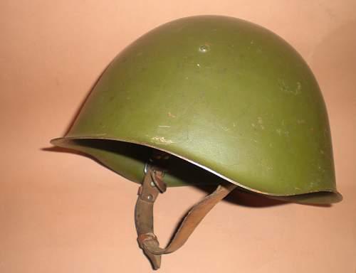 Stamp in helmet