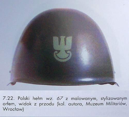 Polish helmets-Warsaw Pact Era