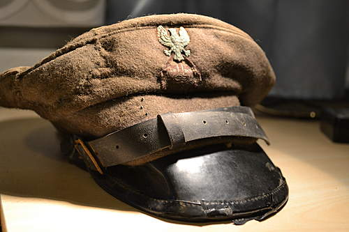Unknown Polish  LWP (?) cap. Looking for ID.