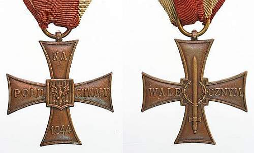 Cross of Valour - LWP Communist Era
