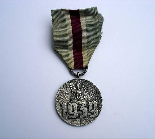 Polish Home Defense Medal - Opinions Please