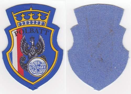 POLBATT (UNDOF) Golan 2 Infantry Company Scorpion