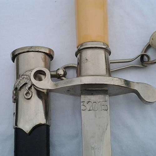 Polish  Air Force Dagger