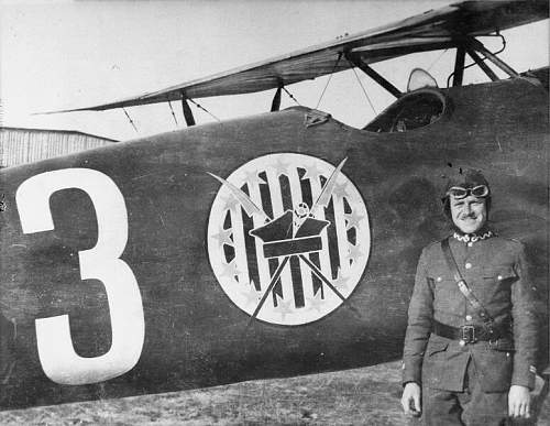1 Pułk Lotnictwa Myśliwskiego, Mińsk Mazowiecki - 1 Eskadra Lotnicza