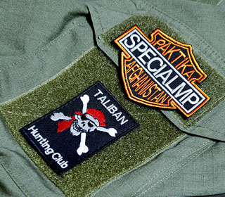 """""""Non-PC"""" patches - Polish forces in Afghanistan"""