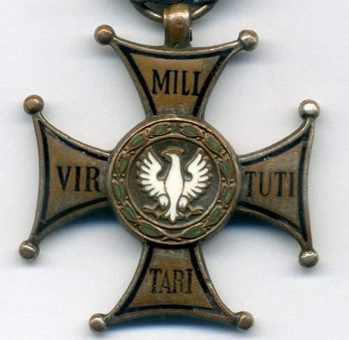 VIRTUTI MILITARI IV class