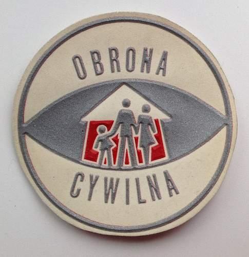 Obrona Cywilna PRL - Civil Defence