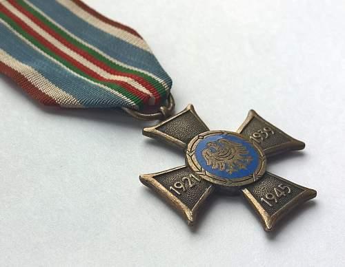 Click image for larger version.  Name:Śląski Krzyż Powstańczy (2).jpg Views:159 Size:142.4 KB ID:845002