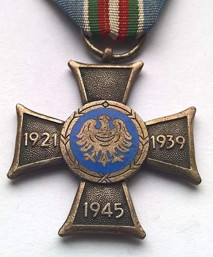 Click image for larger version.  Name:Śląski Krzyż Powstańczy (4).jpg Views:162 Size:174.2 KB ID:845004