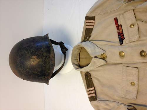 Polish First Division tunic and TT