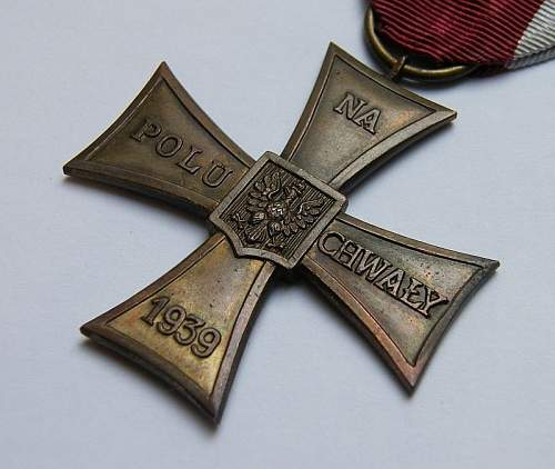 Cross of Valor 1939 ...real or fake 1970s ...