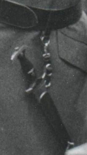 SA-dagger, worn by Franz Seldte