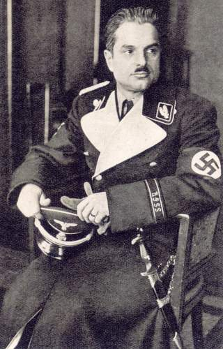 Click image for larger version.  Name:SS-6 march 1938 SS-Oberführer Walter Oberhaidacher from Graz.jpg Views:71 Size:237.0 KB ID:764847