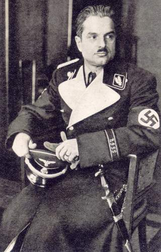Click image for larger version.  Name:SS-6 march 1938 SS-Oberführer Walter Oberhaidacher from Graz.jpg Views:55 Size:199.0 KB ID:764861