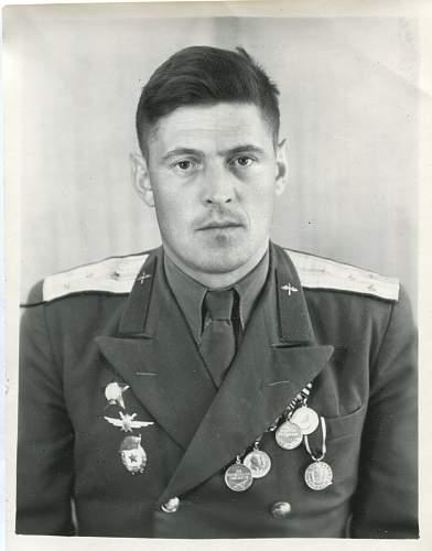 Senior Sergeant Viktor Fedorovich Pluzhnik