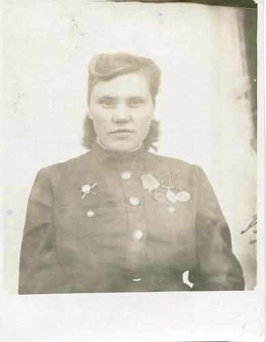 Portrait of a Russian soldier