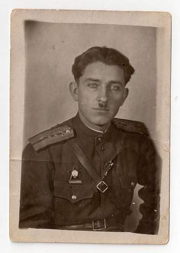 Portrait of a Russian officer
