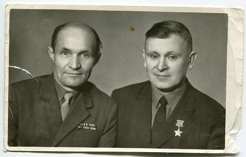Hero of the Soviet Union, Sergeant Ivan Ivanovich Gavrish