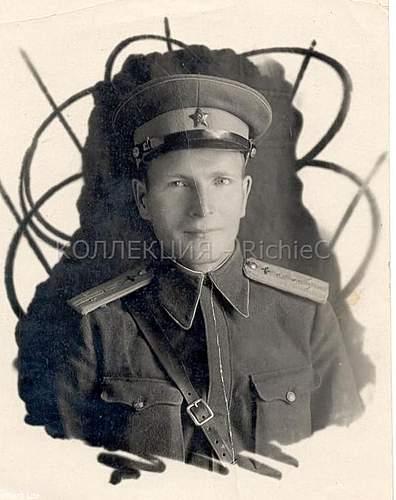 Post 1943 VVS Captain of Engineering