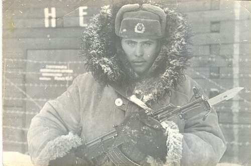 Half frozen Tough Guys with Kalashnikovs