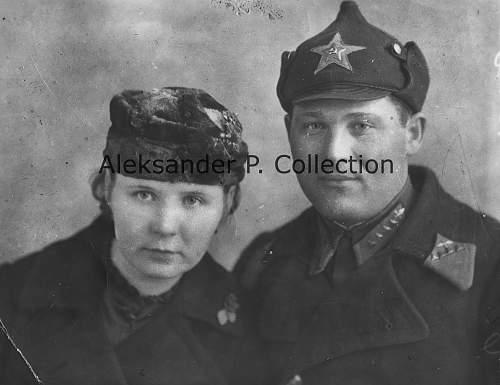 Soviet Starshina of the Air Force - Petrozavodsk, 16.4.1940