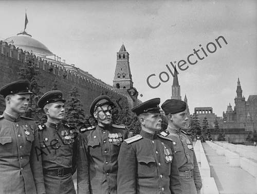 Heroes of the Soviet Union in the Kremlin