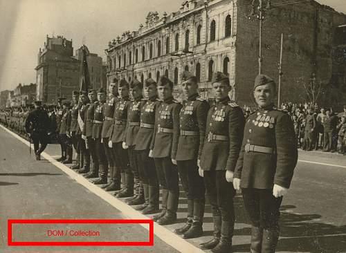Heroes of the Soviet Union in the Kremlin