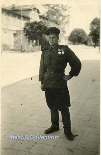 Photos taken in Europe -1945