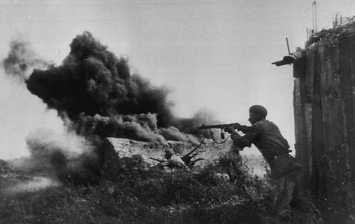 Click image for larger version.  Name:Soldiers of the Red Army engaging in conflict. Stalingrad, October 1, 1942.jpg Views:45 Size:245.1 KB ID:688153