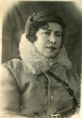 Winter War Female Soldier.