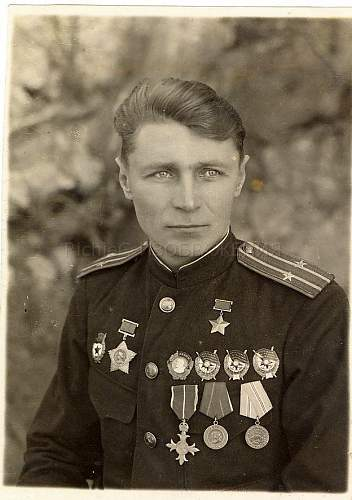 HERO OF THE SOVIET UNION Alekseev Konstantin Stepanovich