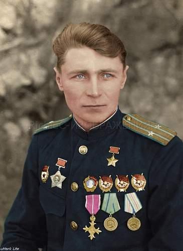 HERO OF THE SOVIET UNION Alekseev Konstantin Stepanovich