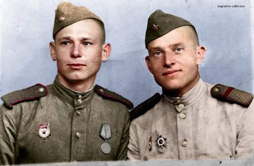 Colorized photos