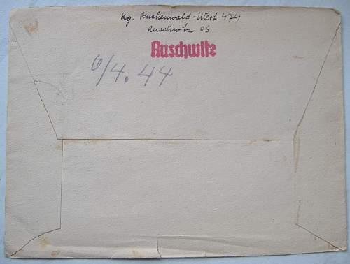 Letter from Auschwitz.